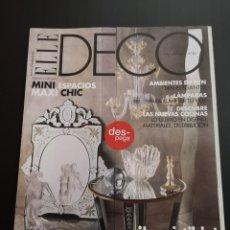 Coleccionismo de Revistas y Periódicos: REVISTA ELLE DECO DECOR DE DECORACIÓN AÑO 2003 NÚMERO 83. Lote 156659538
