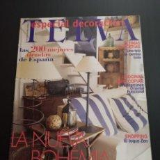 Coleccionismo de Revistas y Periódicos: REVISTA TELVA ESPECIAL DECORACIÓN AÑO 1999 NÚMERO 721. Lote 156660298