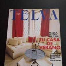 Coleccionismo de Revistas y Periódicos: REVISTA TELVA ESPECIAL DECORACIÓN AÑO 1998 NÚMERO 710. Lote 156660442