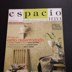 Coleccionismo de Revistas y Periódicos: REVISTA ESPACIO TELVA DECORACIÓN AÑO 2000 NÚMERO 2. Lote 156660522