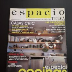 Coleccionismo de Revistas y Periódicos: REVISTA ESPACIO TELVA DECORACIÓN AÑO 2005 NÚMERO 13. Lote 156660610
