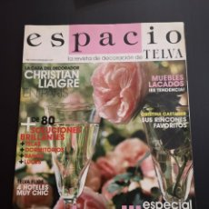 Coleccionismo de Revistas y Periódicos: REVISTA ESPACIO TELVA DECORACIÓN AÑO 2006 NÚMERO 14. Lote 156660634