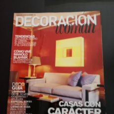 Coleccionismo de Revistas y Periódicos: REVISTA DECORACIÓN WOMAN AÑO 2004 NÚMERO SUPLEMENTO 138. Lote 156660706