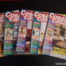 Coleccionismo de Revistas y Periódicos: LOTE 5 REVISTAS COSAS DE CASA DECORACIÓN AÑO 2008 2009 NÚMERO 81 82 84 87 88. Lote 156661022
