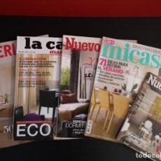 Coleccionismo de Revistas y Periódicos: LOTE 5 REVISTAS LA CASA INTERIORES NUEVO ESTILO MI CASA DECORACIÓN. Lote 156661182