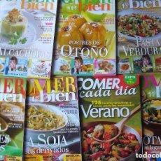 Coleccionismo de Revistas y Periódicos: LOTE 7 REVISTAS COMER BIEN NOS. 88,123,127,128,131,145,149. Lote 156687286