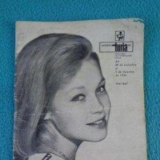 Coleccionismo de Revistas y Periódicos: CARTELERA TURIA, VALENCIA, Nº 97 ---- 1965 ---- MARISOL. Lote 156724702