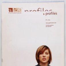 Coleccionismo de Revistas y Periódicos: A.G.E. FOTOSTOCK. CATALOGO PROFILES Nº 1. 2004. . Lote 156739194
