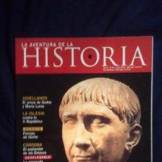 Coleccionismo de Revistas y Periódicos: LA AVENTURA DE LA HISTORIA 32. Lote 156741190