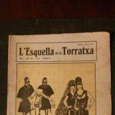 Coleccionismo de Revistas y Periódicos: L´ESQUELLA DE LA TORRATXA-1927. Lote 156745758