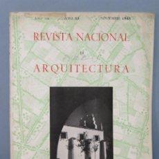 Coleccionismo de Revistas y Periódicos: REVISTA NACIONAL DE ARQUITECTURA. INSTITUTO NACIONAL COLONIZACION. LERIDA. Nº 83. 1948. Lote 156761266