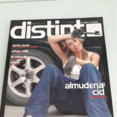 Coleccionismo de Revistas y Periódicos: REVISTA DISTINTO - EL ESTILO VA POR DENTRO - Nº 2 - AÑO 2006 - VITORIA-GASTEIZ -PORTADA ALMUDENA CID. Lote 156802366