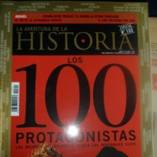 Coleccionismo de Revistas y Periódicos: REVISTA LA AVENTURA DE LA HISTORIA ESPECIAL Nº100 - LOS 100 PROTAGONISTAS. Lote 156827526