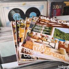 Coleccionismo de Revistas y Periódicos: LOTE DE 6 REVISTAS,CASAS DE CAMPO,EL MUEBLE,NUM,63,66,67,70,71,74. Lote 156827666