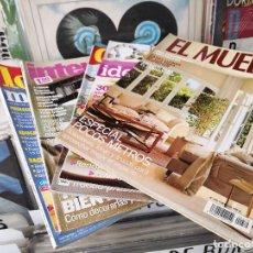 Coleccionismo de Revistas y Periódicos: LOTE DE 5 REVISTAS DE DECORACION. Lote 156827938
