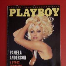 Coleccionismo de Revistas y Periódicos: REVISTA PLAYBOY PLAY BOY. EDICION COLECCIONISTAS. PAMELA ANDERSON Y OTROS DESNUDOS CELEBRES. 1996.. Lote 156828470