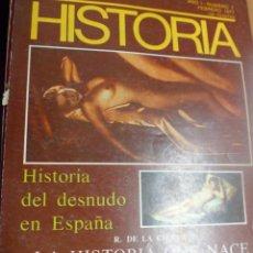 Coleccionismo de Revistas y Periódicos: REVISTA NUEVA HISTORIA AÑO I Nº1 - HISTORIA DEL DESNUDO EN ESPAÑA. LOS MUERTOS DE LA GUERRA CIVIL. Lote 156829290