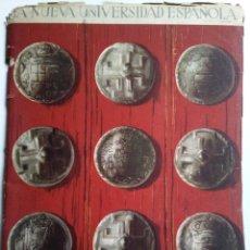 Coleccionismo de Revistas y Periódicos: LA NUEVA UNIVERSIDAD ESPAÑOLA. MADRID 1947.IMPRESO EN HUECO GRABADO FOURNIER. VITORIA.. Lote 156840800