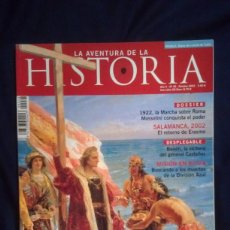 Coleccionismo de Revistas y Periódicos: LA AVENTURA DE LA HISTORIA 48. Lote 156872642