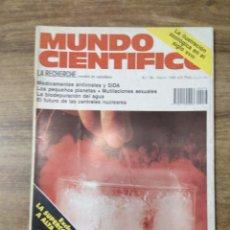 Coleccionismo de Revistas y Periódicos: MFF.- REVISTA MUNDO CIENTIFICO.- Nº 78 - MARZO 1988.- MEDICAMENTOS ANTIVIRALES Y SIDA.- . Lote 156891058