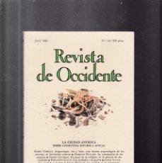 Coleccionismo de Revistas y Periódicos: REVISTA DE OCCIDENTE - Nº 143 / 1993. Lote 156891342