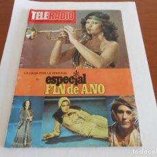 Coleccionismo de Revistas y Periódicos: TELERADIO ESPECIAL FIN DE AÑO 1976 ANGELA CARRASCO PAYASOS DE LA TELE Y AUDREY HEPBURN. Lote 156911282
