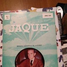 Coleccionismo de Revistas y Periódicos: REVISTA JAQUE N. 78 JUNIO 1978. Lote 156925212