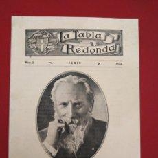 Coleccionismo de Revistas y Periódicos: LA TABLA REDONDA MASONERIA TEOSOFIA LEADBEATER JOSE TALAVERA EL CABALLERO JEFE TARRASA. Lote 156976482