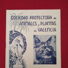 Coleccionismo de Revistas y Periódicos: SOCIEDAD PROTECTORA DE ANIMALES Y PLANTAS DE VALENCIA AÑO VI NUM 54 MARZO 1935 . Lote 156977150