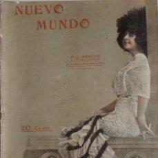 Coleccionismo de Revistas y Periódicos: NUEVO MUNDO Nº 963 - JUNIO 1912 - LA FIESTA DE LA POESÍA ANDALUZA - EL ARBOL SANTO DE GUERNICA. Lote 156977702