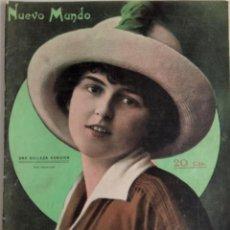 Coleccionismo de Revistas y Periódicos: NUEVO MUNDO Nº 964 - JUNIO 1912 - EL REY EN EL CONCURSO AUTOMOVILISTA DEL GUADARRAMA. Lote 156981278