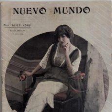 Coleccionismo de Revistas y Periódicos: NUEVO MUNDO Nº 966 - JULIO 1912 - DON ALFONSO XIII EN PALENCIA -DE LA CAMPAÑA DEL RIF -SAN SEBASTIAN. Lote 156985610