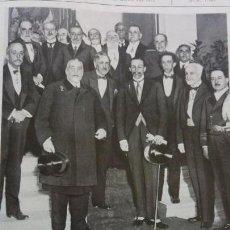 Coleccionismo de Revistas y Periódicos: ALFONSO XIII SEGOVIA JUAN BRAVO MADRID LA REAL SOCIEDAD ESPAÑOLA HISTORIA NATURAL 3 HOJAS AÑO 1921. Lote 156992458