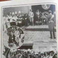 Coleccionismo de Revistas y Periódicos: ALFONSO XIII VALLADOLID FAMILIA REAL LA EXPOSICION HOLANDESA 4 HOJAS AÑO 1921. Lote 156993602