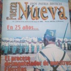 Coleccionismo de Revistas y Periódicos: REVISTA FUERZA NUEVA 1228 ABRIL 2000 PORTADA FOTO LEGIÓN. Lote 157211342