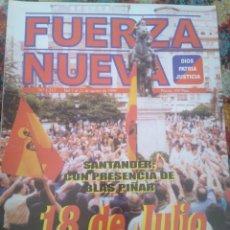 Coleccionismo de Revistas y Periódicos: REVISTA FUERZA NUEVA 1213 AGOSTO 1999. Lote 157212158