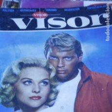 Coleccionismo de Revistas y Periódicos: REVISTA VISOR Nº 24 SARA MONTIEL TROY DONAHUE SARA MONTIEL PARIS VIGO BONANZA 1964. Lote 157358130