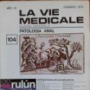 Coleccionismo de Revistas y Periódicos: REVISTA N°104 LA VIA MEDICALE PATOLOGIA ANAL 1979. Lote 157408792