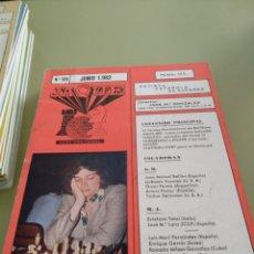 Coleccionismo de Revistas y Periódicos: REVISTA AJEDREZ JAQUE N. 125 JUNIO 1982. Lote 157689733