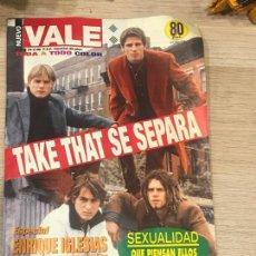 Coleccionismo de Revistas y Periódicos: REVISTA NUEVO VALE 1996 TAKE THAT. Lote 157823950