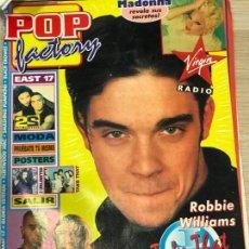 Coleccionismo de Revistas y Periódicos: REVISTA POP FACTORY TAKE THAT . Lote 163746742