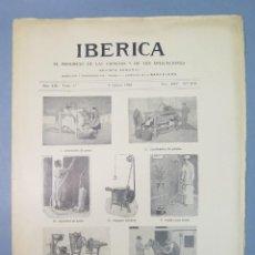 Coleccionismo de Revistas y Periódicos: REVISTA. IBERICA. 6 MARZO 1926. Nº 618. Lote 157839874