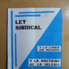 Coleccionismo de Revistas y Periódicos: Nº 170 - MS MUNDO SOCIAL - 15/10/1969- LEY SINDICAL - FOMENTO SOCIAL. Lote 157890350