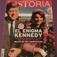 Coleccionismo de Revistas y Periódicos: LA AVENTURA DE LA HISTORIA Nº 180 DOSSIER: EL ENIGMA KENNEDY (COMO NUEVA). Lote 157891358