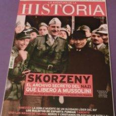 Coleccionismo de Revistas y Periódicos: LA AVENTURA DE LA HISTORIA Nº 165 DOSSIER: SKORZENY. (COMO NUEVA). Lote 157891742