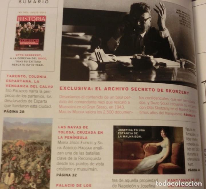 Coleccionismo de Revistas y Periódicos: LA AVENTURA DE LA HISTORIA Nº 165 DOSSIER: SKORZENY. (COMO NUEVA) - Foto 2 - 157891742