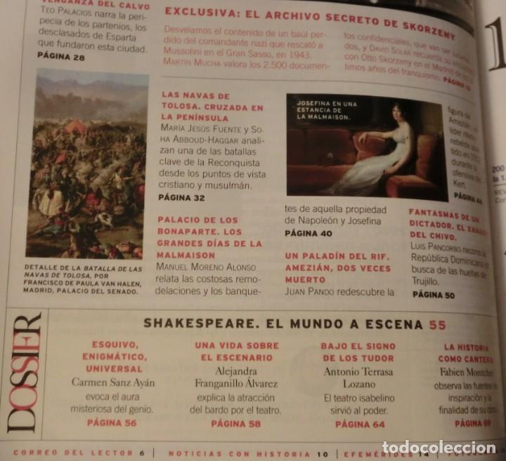 Coleccionismo de Revistas y Periódicos: LA AVENTURA DE LA HISTORIA Nº 165 DOSSIER: SKORZENY. (COMO NUEVA) - Foto 3 - 157891742