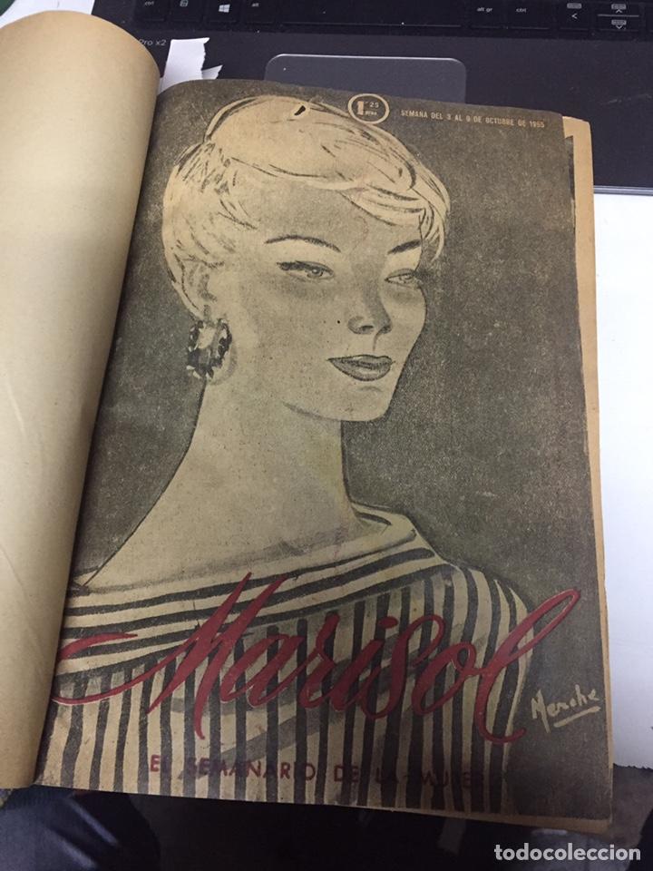 REVISTAS MARISOL SEMANARIO DE LA MUJER AÑO 1955/56 ENCUADERNADO (Coleccionismo - Revistas y Periódicos Modernos (a partir de 1.940) - Otros)