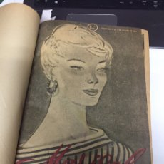 Coleccionismo de Revistas y Periódicos: REVISTAS MARISOL SEMANARIO DE LA MUJER AÑO 1955/56 ENCUADERNADO. Lote 157898322