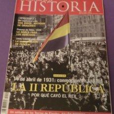 Coleccionismo de Revistas y Periódicos: LA AVENTURA DE LA HISTORIA Nº 90 DOSSIER: LA II REPÚBLICA (COMO NUEVA). Lote 157908930